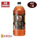 【全国送料無料】ブラックニッカ クリア 4L 37度 4000ml アサヒ ニッカウイスキーペットボトル 大容量 業務用