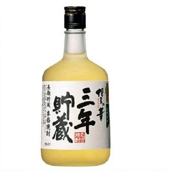 博多の華 三年貯蔵 25度 720ml麦焼酎 福徳長酒類 3年長期  はかたのはな