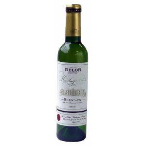 デロー ボルドー ブラン・セック 375ml【フランス】(ハーフボトル)