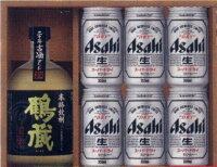 長期貯蔵焼酎&ビールセット(スーパードライ)【簡易包装代込】焼酎とビールの詰合せギフト ビールセット お歳暮