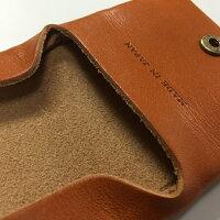コインケースメンズ【tachiya】日本製栃木レザー袋縫いコインケース