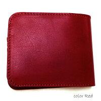 二つ折り財布メンズ送料無料【tachiya】栃木レザー二つ折りウォレット