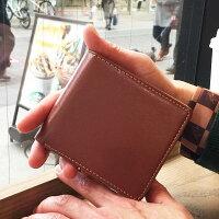 メンズ二つ折り財布財布メンズ二つ折り本皮メンズ