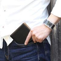 メンズ二つ折り財布メンズ財布二つ折り財布(小銭入れあり)