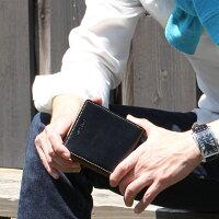 バレンタイン本命二つ折り財布折り財布ブランドメンズ牛革小銭入れあり送料無料軽量♪コンパクト♪多収納♪高コスパ♪