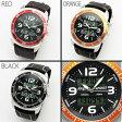 【1点限定特別セール売り切れ御免】メンズ 腕時計 アナログ&デジタル腕時計Angelo Jurietti アンジェロジュリエッティ