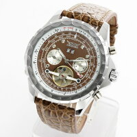 メンズ腕時計バイカラーミディアムケース腕時計