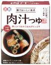【正田醤油】麺でおいしい食卓肉汁つゆ72g小袋 2食