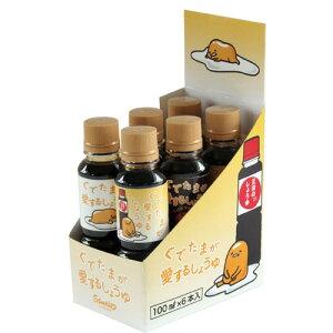 【正田醤油】ぐでたまが愛するしょうゆ100mlx6本