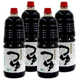 【送料無料】【正田醤油】業務用濃縮つゆ1.8Lペットボトル×4本
