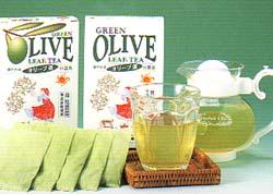 マスコミで大ブレイク・健康志向オリーブ茶
