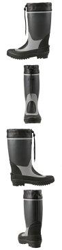 [スーパーSALE中ポイント5倍][ビッグアイランド] Big Island M41805 メンズ | レインブーツ | 長靴 シンプル | 機能性 機能的 | レジャー 防水 | グレー