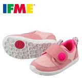 [イフミー]IFME22-7008キッズジュニア|キッズスニーカー|子供靴ニット素材|軽量|女の子女児|ピンク