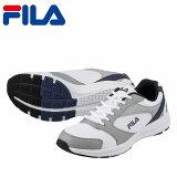 [フィラ]FILAFRU-112メンズ|ランニングシューズ|スポーツスニーカー|トレーニングジム|大きいサイズ対応28.0cm|ホワイト×ネイビー