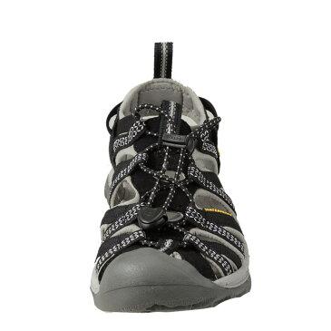 [全商品ポイント5倍]キーン KEEN サンダル 1008448 レディース靴 靴 シューズ 2E相当 スポーツサンダル 軽量 アウトドア キャンプ レジャー ウィスパー 大きいサイズ対応 25.0cm ブラック