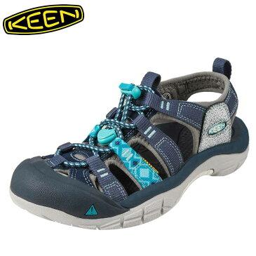 [全商品ポイント5倍]キーン KEEN サンダル 1016483 レディース靴 靴 シューズ 2E相当 スポーツサンダル アウトドア キャンプ レジャー ニューポート H2 大きいサイズ対応 25.0cm ブルー