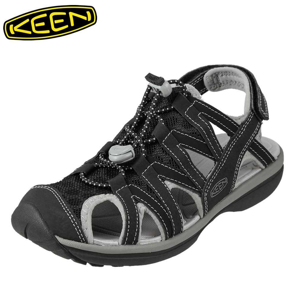 キーン KEEN レディース サンダル 1014682 SAGE SANDAL セージ スポーツサンダル レディース靴 靴 シューズ スポサン 軽量 アウトドア キャンプ レジャー フェス ウォーターシューズ ブランド 人気 ブラック