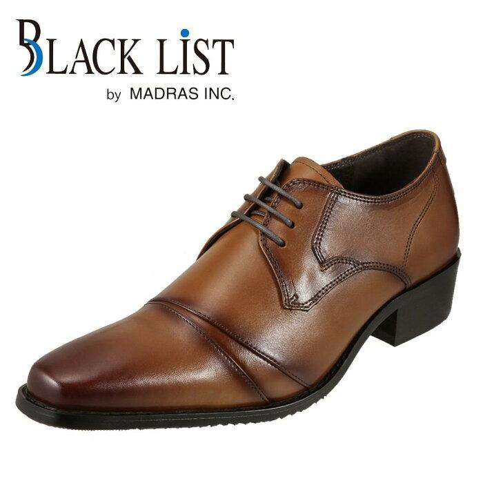 ブラックリスト BLACK LIST ビジネス BC2510 メンズ靴 靴 シューズ 外羽根 ストレートチップ 本革 ビジネス 仕事 通勤 スクエアトゥ ライトブラウン