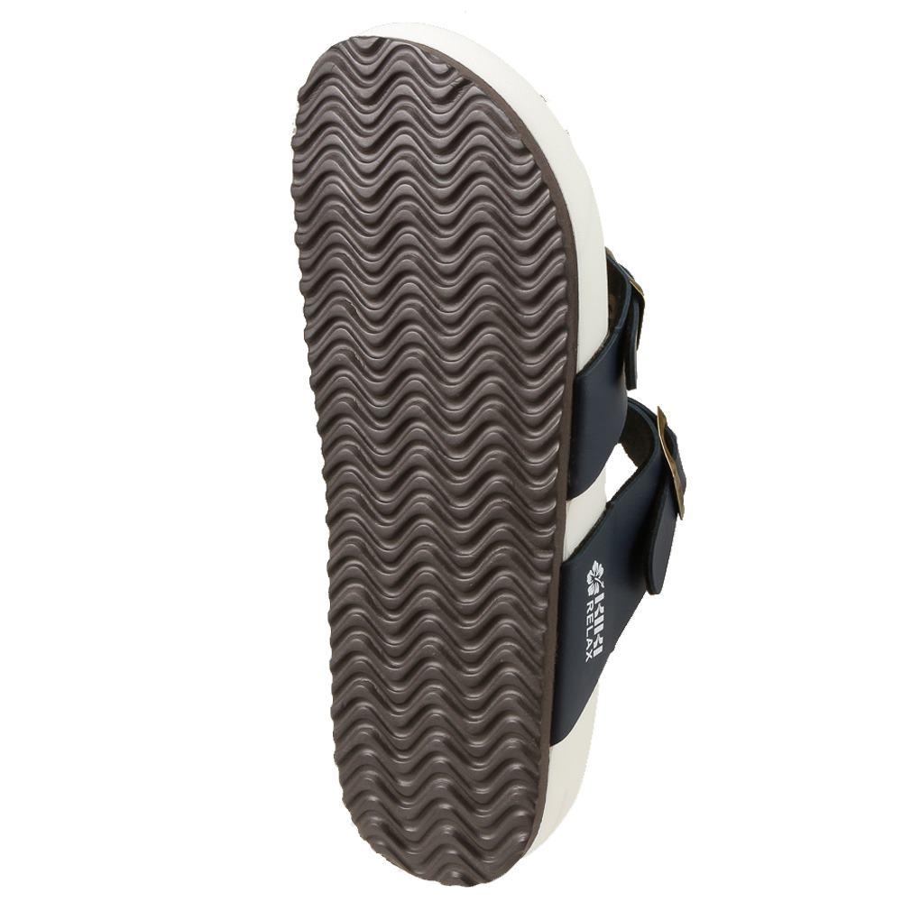 ケーアイケーアイ KIKI サンダル KK8986A レディース靴 靴 シューズ コンフォートサンダル 軽量 フッドベット フラット カジュアル スポーティ 大きいサイズ対応 24.5cm ネイビー