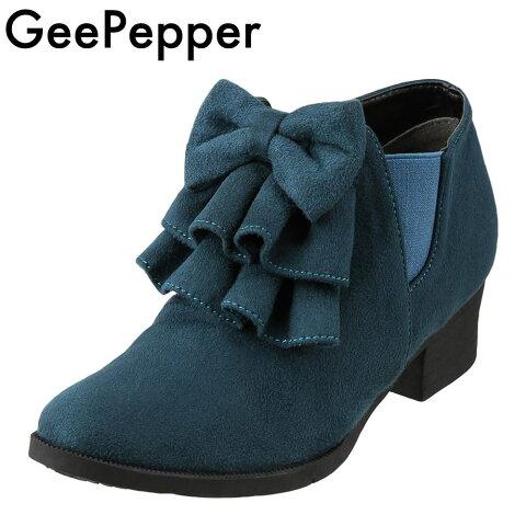 84474ca5900bf ジーペッパー GEEPEPPER ブーツ R43845-89 キッズ 靴 靴 シューズ 2E相当 ブーティ ショートブーツ 子ども 女の子  サイドゴアブーツ 履きやすい フリボン フリル ...