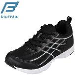 バイオフィッター Bio Fitter BF-371 キッズ靴 子供靴 靴 シューズ 3E相当 スポーツシューズ 軽量 軽い 屈曲 歩きやすい 通学 学校 ブラック