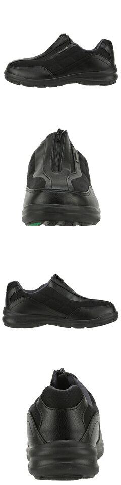 [マラソン期間中ポイント5倍][ダンロップ] DUNLOP DC138 メンズ | コンフォートシューズ ウォーキング | 運動靴 幅広 ゆったり | 軽量 反射板 | 大きいサイズ対応 小さいサイズ対応 | ブラック