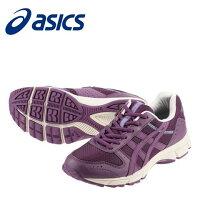 [アシックス]asicsTDW414L3333レディース|ウォーキングシューズ|レースアップファスナーメッシュ素材|クッション性疲れにくい歩きやすい|大きいサイズ24.5cm25.0cm|ヴァイオレット×ヴァイオレット