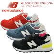 new balance【ニューバランス】WL574 CNC CNB CNA レディース スニーカーDワイズ レッド/ホワイト ライトブルー ブラック/ホワイト