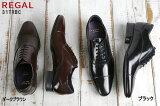 リーガル 靴 メンズ 31TRBC ダークブラウン 濃茶色、ブラック 黒色 の2色 日本製 国産 REGAL 31TR 男性用 レースアップシューズ 紳士靴 24-27cm