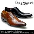Bump N' GRIND バンプアンドグラインド メンズ MENS 本革 ビジネスシューズ ドレスシューズ ロングノーズ 靴 くつ シューズ 革靴 内羽根 パンチドキャップトゥ ストレートチップ 紳士靴 BG-6033