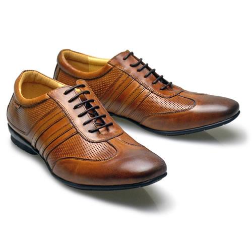おすすめの革靴スニーカー11:バンプアンドグラインドのメンズ本革スニーカー BG-9000です。