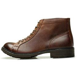 RAUDiラウディメンズMENS本革カジュアルシューズ革靴くつレザーブーツ