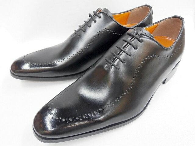 【日祝も即日発送】 アントニオ ドゥカティ メダリオン DC1174(ブラック) ANTONIO DUCATI メンズ靴 ビジネスシューズ画像