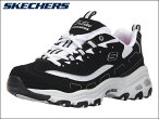 �����å��㡼��SKECHERS11930�������D'Lites-BiggestFanBKW�֥�å�/�ۥ磻�ȸ��쥹�ˡ�����