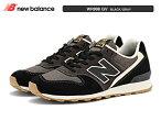 newbalanceニューバランスWR996GVBLACK/GRAYウィズD