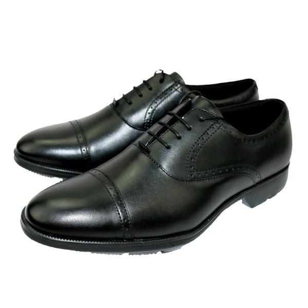 テクシーリュクスtexcyluxeビジネスメンズTU-7774TU7774ブラックBLACK24.5〜27,28cm靴シューズ牛