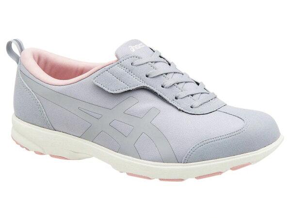 アシックススニーカーレディースライフウォーカー1(W)1242A001ミッドグレー/フロステッドローズ21.5〜25cm靴シュー