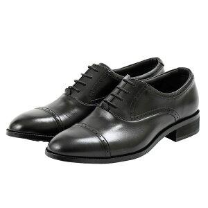 テクシーリュクス texcy luxe ビジネス メンズ TU-901 TU901 ブラック BLACK 25〜27cm 靴 シューズ 牛革 ストレート 革靴 ビジネスシューズ 幅広 ゴアテックス 透湿・防水 日本製 紳士靴 アシックス商事 冠婚葬祭 黒