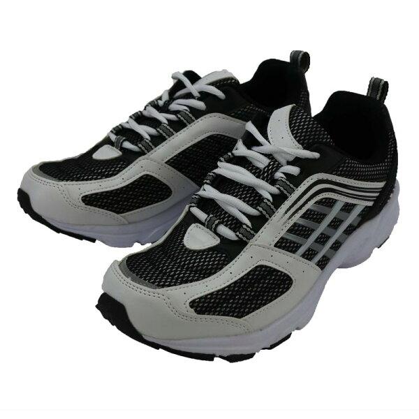 カジュアルシューズ幅広302スニーカーメンズホワイト/ブラック24.5〜27,28cm靴シューズ