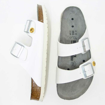 BIRKENSTOCK ビルケンシュトック プロフェッショナル ARIZONA(アリゾナ) ESD(帯電消散機能付き) 089418 ホワイト(レディース)「靴」サンダル ALPRO アルプロ 医療機関用