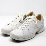 asicspedalaアシックスペダラウォーキングシューズ2Eファスナー付き本革日本製WP258T旅行通勤靴レディース婦人靴ホワイト