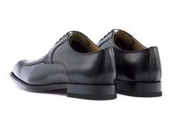 リーガル靴メンズビジネスシューズUチップスクエアトゥREGAL124RALブラック【バーゲン】