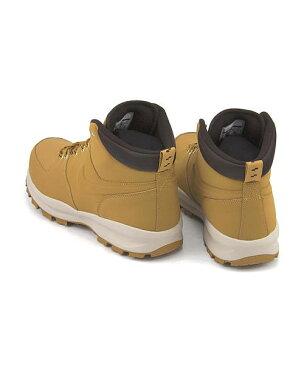 ナイキ ハイカット スニーカー ブーツ メンズ マノアレザー 通気性 クッション性 撥水 雨 雪 靴 カジュアル デイリー トラベル アウトドア MANOA LEATHER NIKE 454350 ヘイスタック/ヘイスタック/ベルベットブラウン