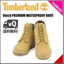 ティンバーランド レディース 6インチ プレミアム ウォータープルーフ ブーツ 防水 雨 雪 靴 カジュアル アウトドア 6inch PREMIUM WATERPROOF BOOT Timberland J12909 ウィートヌバック