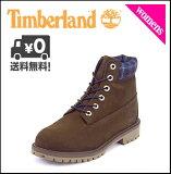 Timberland(�ƥ���С�����)JUNIOR6inchPREMIUMBOOTS(����˥�6������ץ�ߥ���֡���)6398R�֥饦��/�ץ쥤��