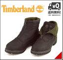 ティンバーランド メンズ ブーツ プレミアム ジップ ロールトップ 2WAY センタージップ カジュアル デイリー アウトドア PREMIUM ZIP ROLLTOP Timberland 6156B ブラック