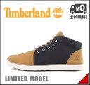 ティンバーランド メンズ ミッドカット スニーカー ブーツ 限定モデル カジュアル デイリー アウトドア ハドストン チャッカ HUDSTON CHUKKA Timberland A18HZ ウィートヌバック/ネイビー