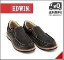 エドウィン ローカット カジュアル シューズ スリッポン メンズ クッション性 カジュアル デイリー トラベル ウォーキング EDWIN EDM-9808 ブラック