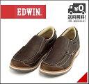 エドウィン ローカット カジュアル シューズ スリッポン メンズ クッション性 カジュアル デイリー トラベル ウォーキング EDWIN EDM-9808 ダークブラウン