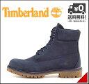 ティンバーランド ブーツ メンズ アイコン 6インチ プレミアム ブーツ 防水 雨 雪 靴 カジュアル デイリー アウトドア ICON 6inch PREMIUM BOOT Timberland 6718B ネイビーヌバック